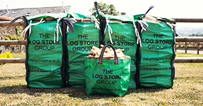 4 Log Store EasyStore Bags Outside